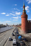 View to Kremlin, Moscow, Russia Stock Images