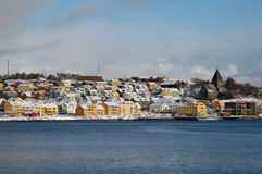View to Kristiansund Royalty Free Stock Image