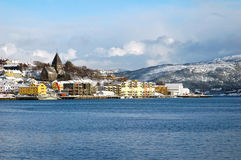 View to Kristiansund Stock Image