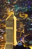 View to Kuala Lumpur (Malaysia) at night Royalty Free Stock Image