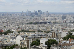View  to La Defense. Royalty Free Stock Image