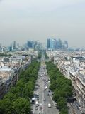 View to La Defense Stock Photo