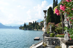 View to the lake Como Stock Image