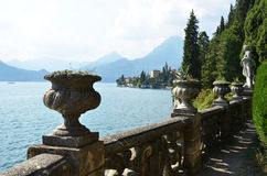 View to the lake Como Stock Photos