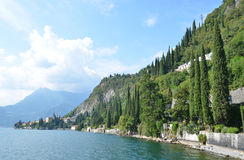 View to the lake Como Royalty Free Stock Photography
