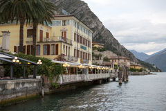 View to the lake Garda Stock Image