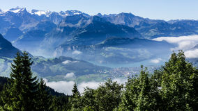 View to lake lucerne - switzerland Stock Photos