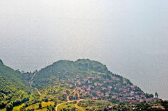 A view to lake Ohrid Royalty Free Stock Image