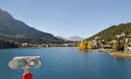 View to the lake. Royalty Free Stock Photos