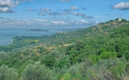 Lake Trasimeno,Umbria,Italy Stock Photos