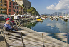 View to the Lerici. Stock Image