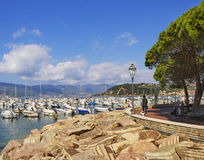 View to the Lerici. Stock Photos