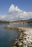 View to the Lerici. Royalty Free Stock Image