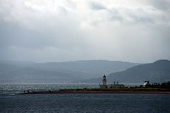 View to a lighthouse Stock Image
