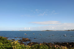 View to Lihou , Guernsey Royalty Free Stock Photography