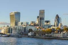 View to London Stock Image