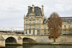 View to the Louvre Museum. Royalty Free Stock Photos