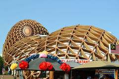 A view to Malaysia pavilion of EXPO Milano 2015. Stock Image