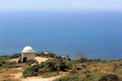 View to Mediterranean Sea royalty free stock photo