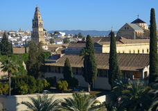 View to Mezquita cathedral in Cordoba, Spain Stock Photos