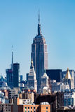 View to the Midtown Skyline. Of New York in summer 2015 Stock Photo