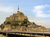View to Mont-Saint-Michel Stock Photos