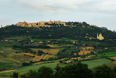 View to Montalcino Royalty Free Stock Photos