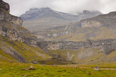 View to monte Perdido Royalty Free Stock Photography