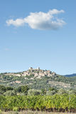 View to Montemassi Tuscany royalty free stock photography