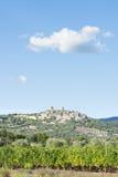 View to Montemassi Tuscany Stock Photo