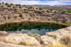 View to Montezuma Well Royalty Free Stock Images