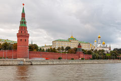 View to Moscow Kremlin from Sofiyskaya embankment Stock Photography