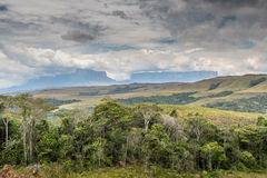 View to Mount Roraima - Venezuela, South America Stock Photography