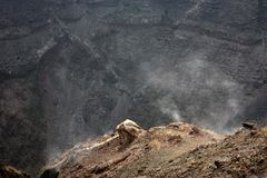 View to Mount Vesuvius Stock Photo