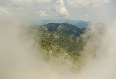 View to mountains Stock Image