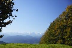 View to mountains Stock Photos
