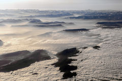 View to mountains of the alps Stock Photography