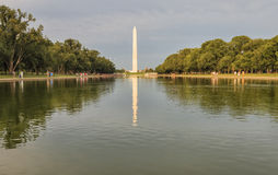 View to the National World War II Memorial in Washington DC Stock Photography
