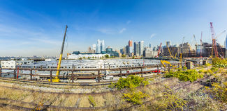 View to  neighborhood Midtown with Penn Station in New York Royalty Free Stock Photography