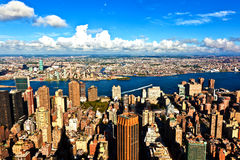 View to New York Royalty Free Stock Photo