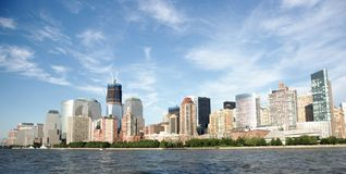 View to new york from south Stock Image