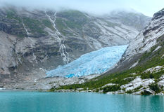 View to Nigardsbreen Glacier (Norway) Stock Images