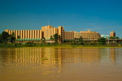Free View To Niger River And Niamey City, Hotel Gaweye, Niamey Niger Stock Image - 102744111