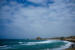 Holy land Series - Caesarea Port 5 Stock Images