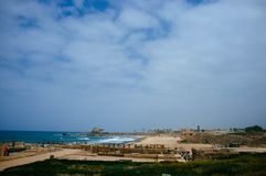 Holy land Series - Caesarea Port 3 Royalty Free Stock Image
