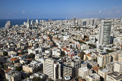 Tel-Aviv Cityscape Royalty Free Stock Image