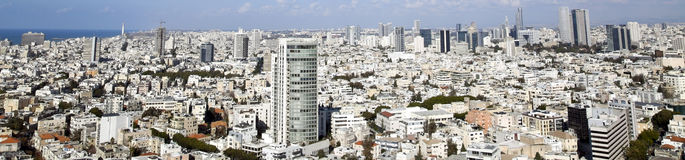 Tel-Aviv Cityscape Royalty Free Stock Photo