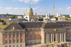 View to the northern part of Potsdam, Brandenburg Stock Photo