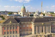 View to the northern part of Potsdam, Brandenburg Stock Photo