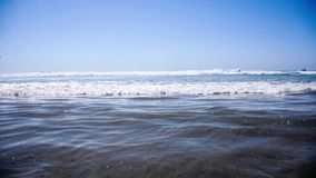 The view to ocean at Mexico stock video footage